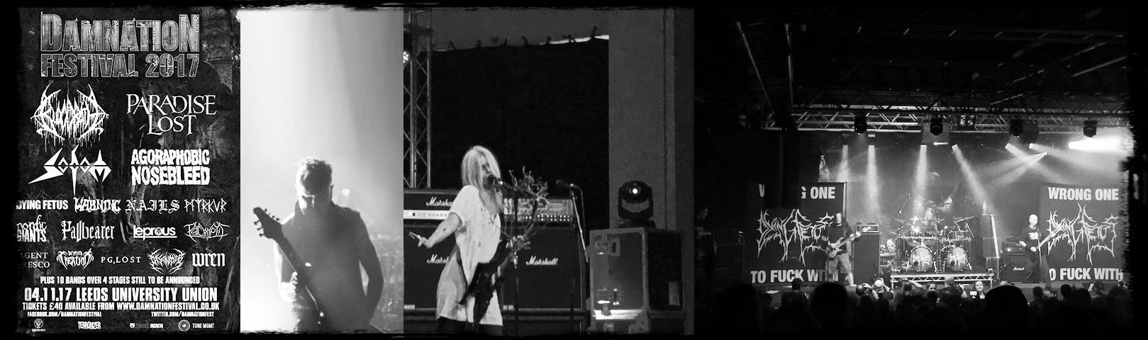 Damnation Festival, Leeds, 2017