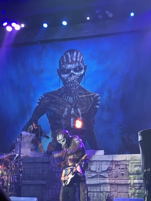 Iron Maiden, Liverpool, 2017