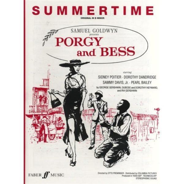 george-gershwin-summertime-b-minor-voix-partiti